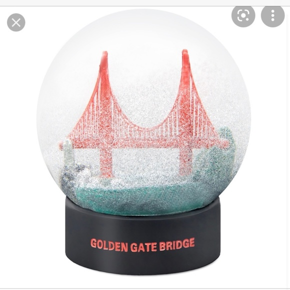 San Francisco snow globe vintage